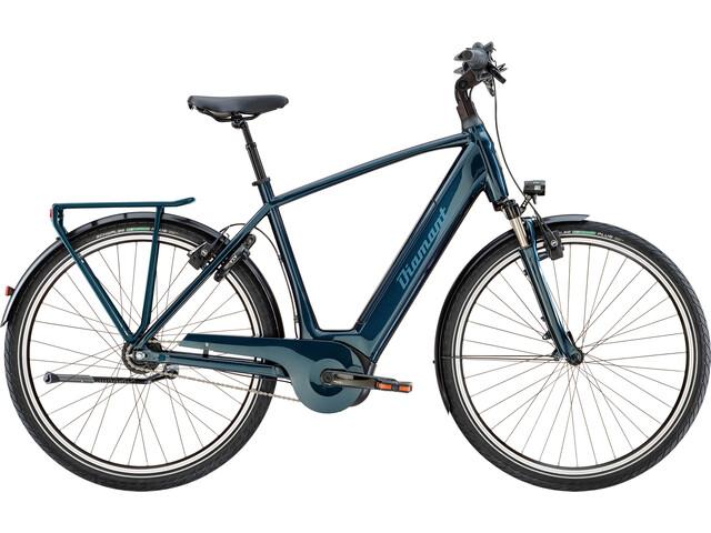 Diamant Onyx+ E-trekkingcykel blå